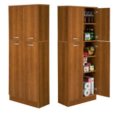 Kitchen Cherry Pantry Cabinets For Sale | EBay