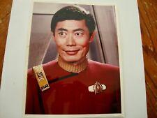 George Takei autographed 8x10 photo - Star Trek Sulu