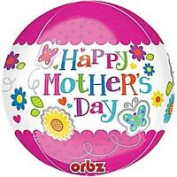 HAPPY MOTHERS DAY ORBZ BALLOON ANAGRAM FOIL BALLOONS