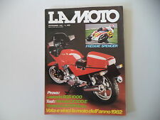 LA MOTO 9/1982 LAVERDA 1000 RGS/HONDA CX 500 E/YAMAHA XJ 750 SECA/MALAGUTI FIFTY
