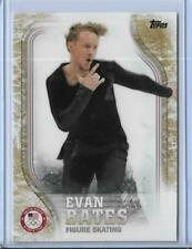 2018 TOPPS OLYMPICS EVAN BATES SKATING GOLD PARALLEL 25/25 UNIQUE ~ CARD US-48