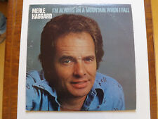 MERLE HAGGARD  I'M ALWAYS ON A MOUNTAIN WHEN I FALL
