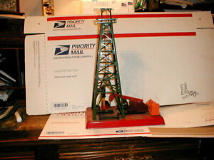 LIONEL O GAUGE NO. 455 OIL DERRICK & PUMP