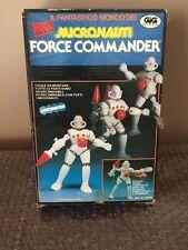 VINTAGE NUOVI GIG Micronauts/Micronauti FORCE COMMANDER IN Sealed Box