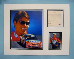 1996 JEFF GORDON #24 Nascar 11x14 MATTED Kelly Russell Lithograph Print