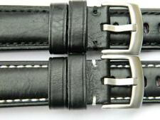 Handmade Watch Strap Genuine Smooth Leather Padded Sporty Character