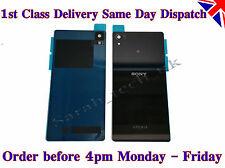 Nuevo Sony Xperia Z2 batería de la contraportada Panel de Vidrio Trasero Con Adhesivo Negro