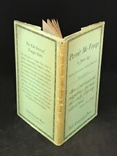 1934 The Yale Series of Younger Poets James Agee Permit Me Voyage