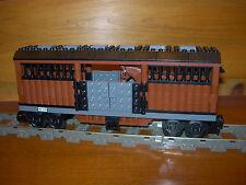 Lego Train Horse Livestock Car Custom City 9V RC Power Functions 60052 7939