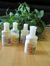 4 Bath And Body Works variety Body Lotions 2 oz each Classic & Rare