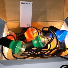 IKEA Solvinden LED String Light 12 Lights Multicolor Outdoor 204.221.17