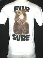 "Workaholics ""FUR SURE"" Blake in Bear Skin Coat Mens T-shirt FREE SHIPPING!"