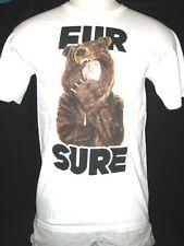 "Workaholics ""FUR SURE"" Blake in Bear Skin Coat Mens T-shirt FREE SHIPPING!"