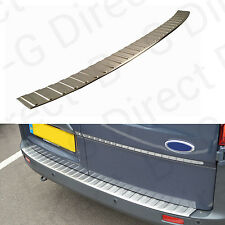 Ford Transit Tourneo Custom rear bumper plate protector cover stainless steel