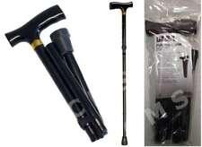 Graham Field LUMEX Folding Adjustable Cane Standard Derby Handle Black 250Lb New