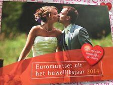NEDERLAND 2014 HUWELIJKSET BU euromunten
