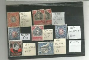 KUT STAMPS HIGH VALUES