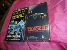 House & House 2 VHS LOT William Katt George Wendt Richard Moll RARE HTF OOP