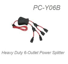 4ft 6-Outlet Power Cord Splitter (1)NEMA 5-15P to (6)NEMA 5-15R, 14AWG/3 Cable
