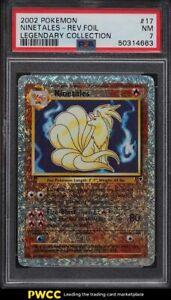 2002 Pokemon Legendary Collection Reverse Holo Ninetales #17 PSA 7 NRMT