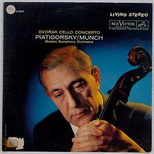 DVORAK: Cello Concertos PIATIGORSKY / MUNCH Vinyl LP Shaded Dog SD LSC 2490