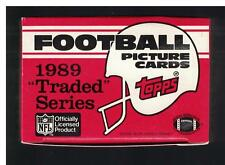1989 Topps Traded Football FACTORY Set Barry SANDERS + Troy AIKMAN ROOKIE