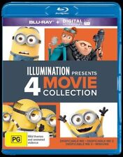 Despicable Me (Blu-ray, 2017, 4-Disc Set)