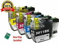 4Pk LC-3011 Ink Cartridge For Brother LC3011 MFC-J491DW MFC-J690DW MFC-J497DW