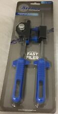 "NEW! Chainsaw sharpening tool kit FAST FILER 3/8"" pitch chain with files"