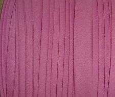 """LAVENDER PINK BTY 1/2"""" Double Fold Bias Tape EXTRA Wide ONE (1) YARD USA Product"""