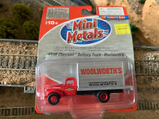 Ho Scale 1:87 Mini Metals '41/46 1941 to 1946 Chevrolet Delivery truck #30349
