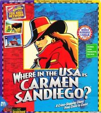 WHERE IN THE USA IS CARMEN SANDIEGO DELUXE +1Clk Macintosh Mac OSX Install