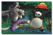 DREAMWORKS KUNG FU PANDA ACTION FIGHTING RARE POSTER NEW 22x34 FREE SHIPPING