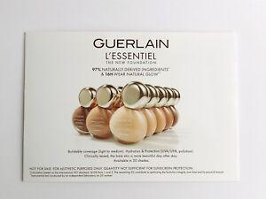 Guerlain L'Essentiel Natural 16H Wear Foundation & Abeille Royale Oil Sample