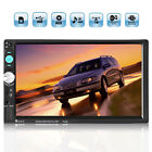 Double 2 DIN 7'' HD Car Stereo Radio CD DVD MP5 Player FM MP3 Bluetooth Touch AU