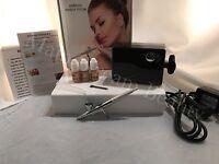 Luminess Airbrush makeup Black 3speed Pro Airbrush System 4pc Fair/Medium kit