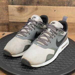 nike Air Max Tavas Mens Shoes Running Walking Athletic Casual Gray Sneaker Sz 10