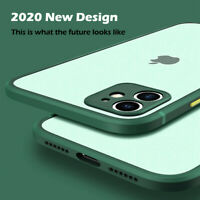 Case For iPhone 11 Pro Max XR XS X 7 8 SE 2 Square Shockproof Bumper Matte Cover