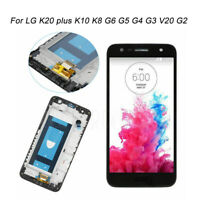 For LG K20 plus K10 K8 G6 G5 G4 G3 V20 G2 LCD Screen Digitizer Replacement Frame