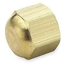 Parker 640F-6  3/8' Brass SAE 45 Degree Cap