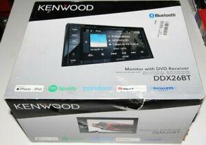 "Kenwood DDX26BT Bluetooth DVD CD MP3 Player iPhone 6.2"" Touch Radio Pandora SAT"