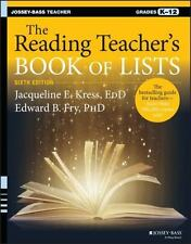THE READING TEACHER'S BOOK OF LISTS - KRESS, JACQUELINE E./ FRY, EDWARD B., PH.D