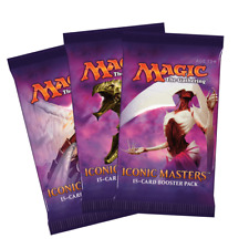 3 x Iconic Masters Booster Packs * SEALED *