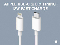 ORIGINAL Apple 18W USB-C Lightning Charging Cable For iPhone 11 12 Mini Pro Max