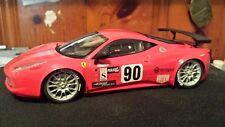Revell 1/25 Ferrari 458 race car built model kit