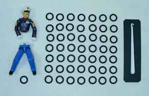 Kit réparation Gi Joe Lot de 50 élastiques NEUF + CROCHET Expedition 24H g.i joe
