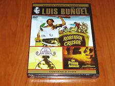 ROBINSON CRUSOE / LA EDAD DE ORO / UN PERRO ANDALUZ - Luis Buñuel - Precintada
