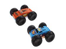 2 GIRA Auto Monster Camion Automobili Giocattoli per Bambini Regalo Inversione Auto