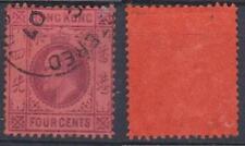 *HONGKONG*    KE VII,   4c,   Sg.93,  Used