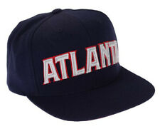 Adidas NBA Men's Atlanta Hawks Snapback Cap Hat, Navy